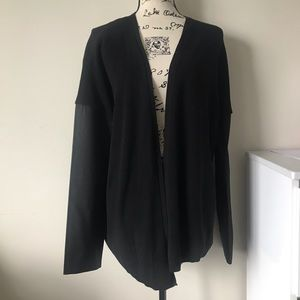 BCBGeneration black sweater cardigan L